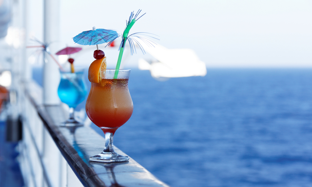 Cocktails on the ship