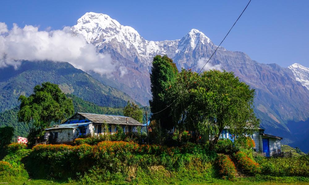 Teahouse on Annapurna Circuit