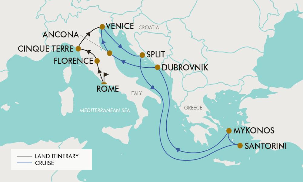 16 Day Italy Croatia Greek Islands Tripadeal