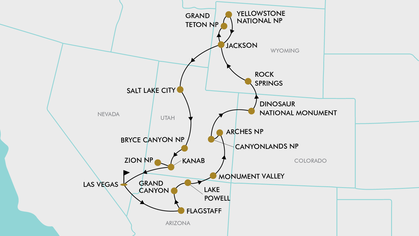 16 Day United States National Parks | TripADeal