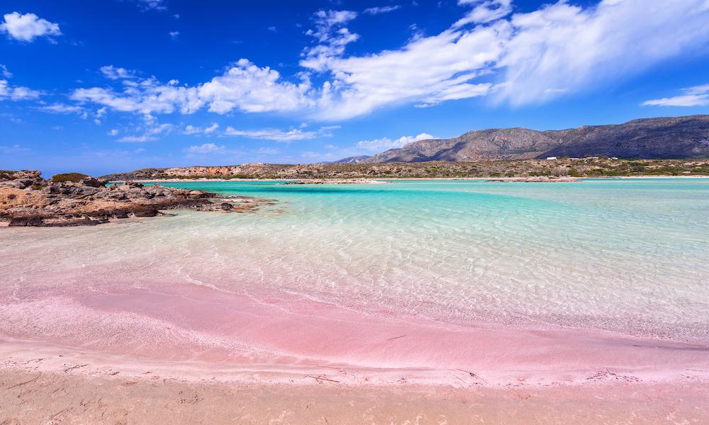 Pink Sand Beach - Crete