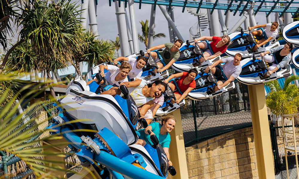 Jet Rescue Ride at Sea World