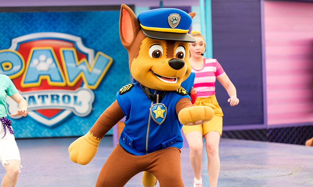 PAW Patrol at Sea World
