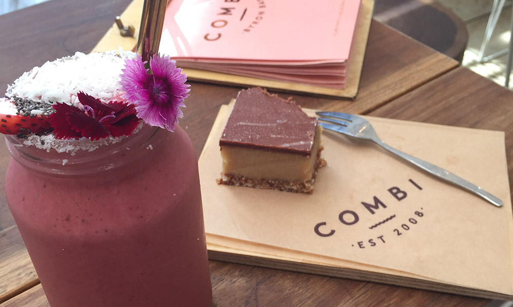 A delicious smoothie from Combi