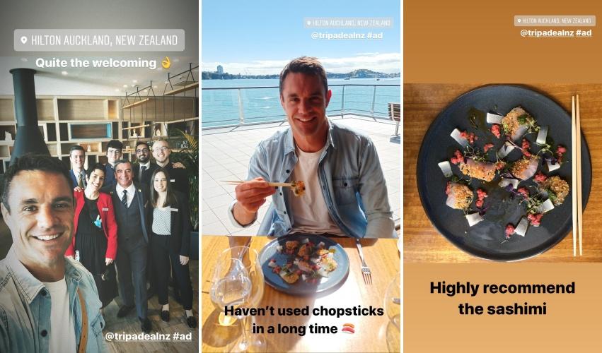 Dan Carter at Hilton Auckland