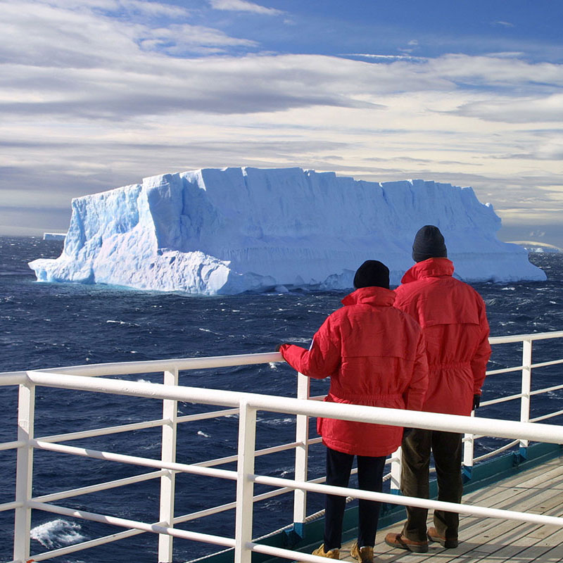 A scenic cruise of Antarctica is often a more cost-effective option