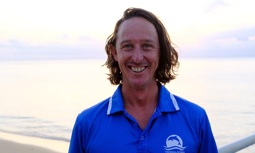 Josh Halloran, Eco Centre Supervisor