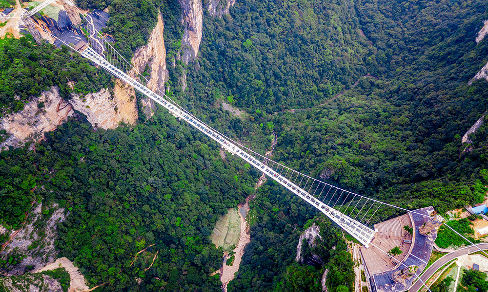 Zhangjiajie Grand Canyon Glass Bridge