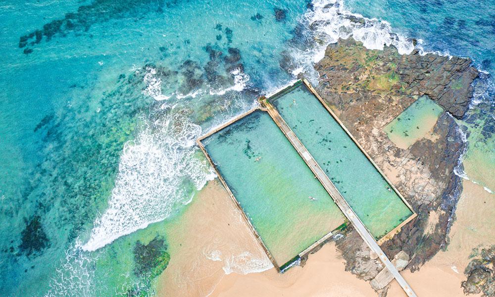 Austinmer ocean pools